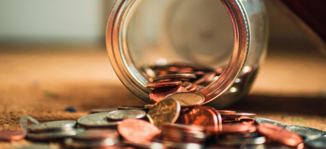 Image shows a pot of pennies. I like to ensure you get a fair price for your project.